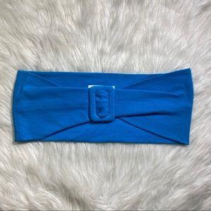 NEW Vintage Deadstock express blue belt 80s